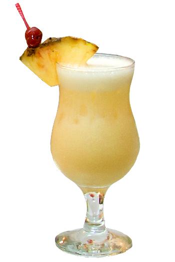 Pina Colada Рецепт алкогольного коктейля Голубая лагуна
