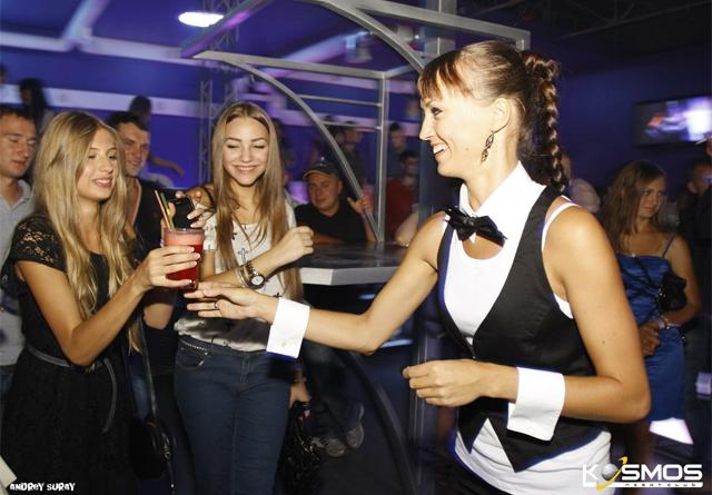 Прическа в ночной клуб своими руками 51